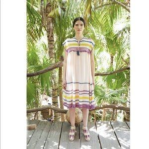 Free People Carolina K Boho Crochet Midi Dress